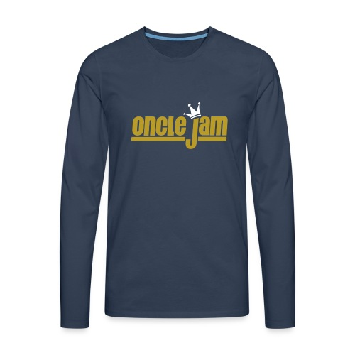 Oncle Jam horizontal or - T-shirt manches longues Premium Homme