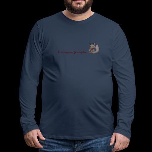 RavenWolfire Design - T-shirt manches longues Premium Homme