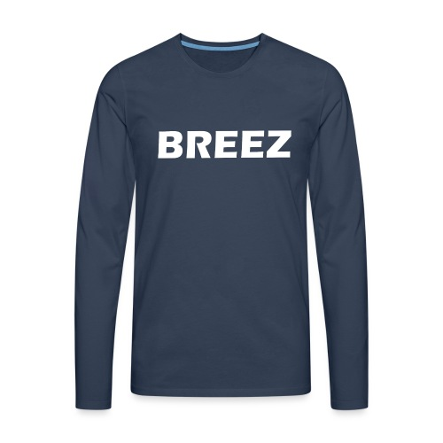 Breez Identity I - Herre premium T-shirt med lange ærmer