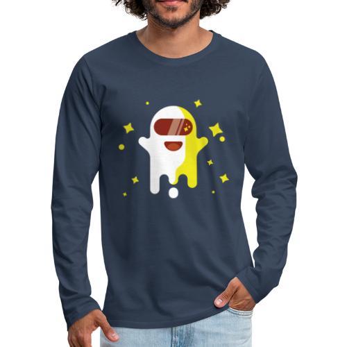 Fantôme astronaute - T-shirt manches longues Premium Homme