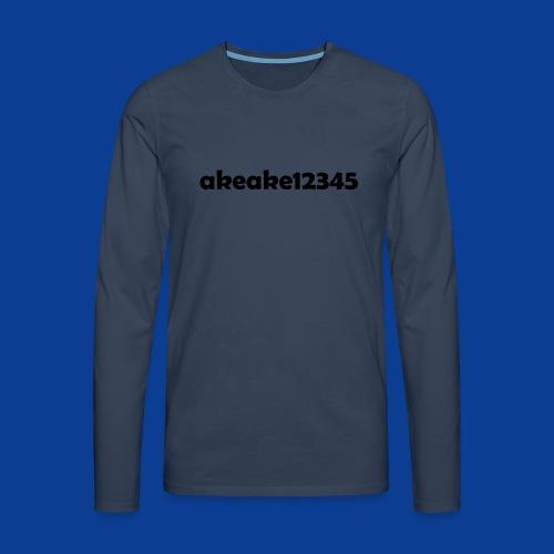 Shirts and stuff - Men's Premium Longsleeve Shirt