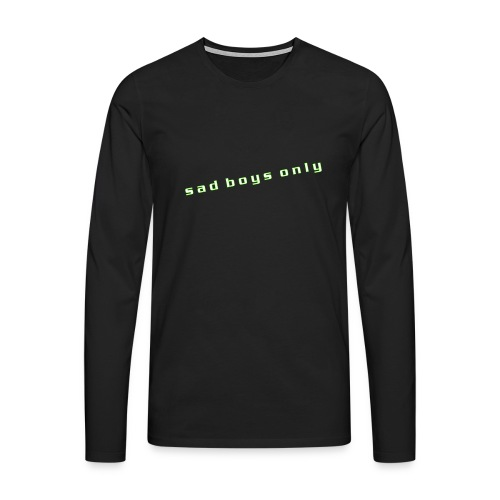 only_sad - Men's Premium Longsleeve Shirt