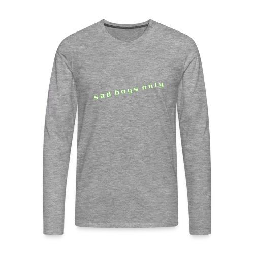 only_sad - Men's Premium Longsleeve Shirt