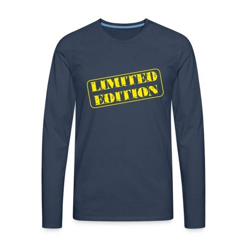Limited Edition - Männer Premium Langarmshirt