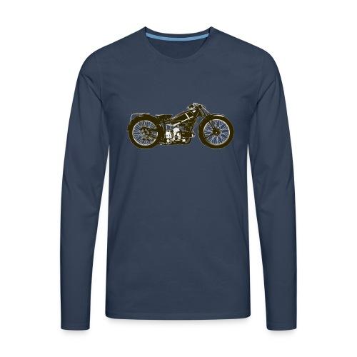 Classic Cafe Racer - Men's Premium Longsleeve Shirt