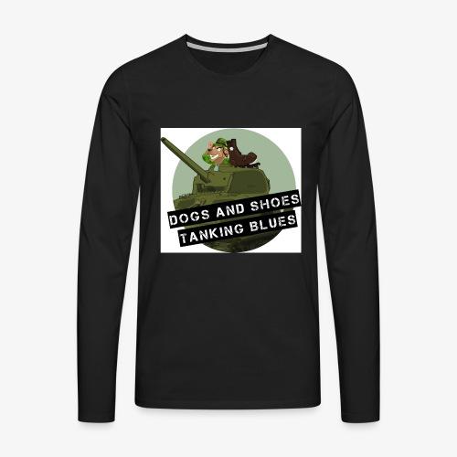 logo dogs nieuw - Mannen Premium shirt met lange mouwen