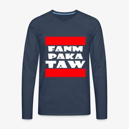 fanm paka taw - T-shirt manches longues Premium Homme