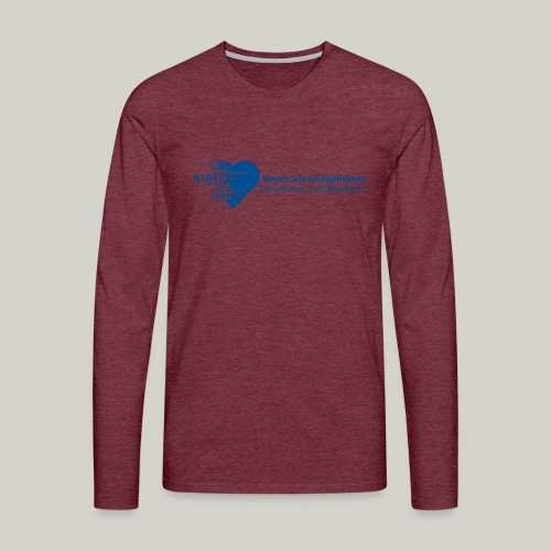 Being Human with Algorithms - Men's Premium Longsleeve Shirt
