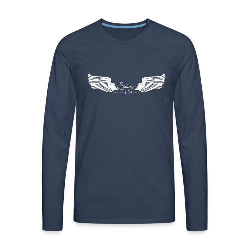 Seraph Wings white - T-shirt manches longues Premium Homme
