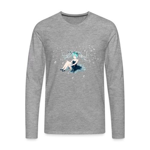 Water Miku O.C. - Maglietta Premium a manica lunga da uomo