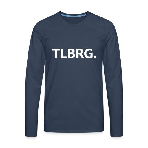 TLBRG - Mannen Premium shirt met lange mouwen
