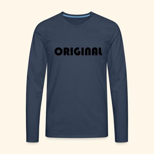 Original - Camiseta de manga larga premium hombre