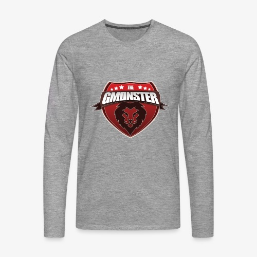TheGMonster Logo Grand - T-shirt manches longues Premium Homme