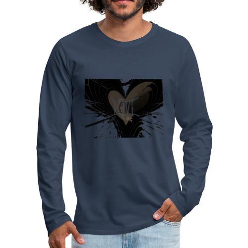 explosion d amour - T-shirt manches longues Premium Homme