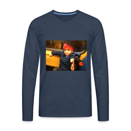 Rojbin gesbin - Långärmad premium-T-shirt herr
