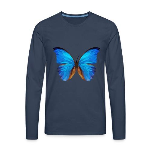 PAPILLON - MINIMALISTE - T-shirt manches longues Premium Homme