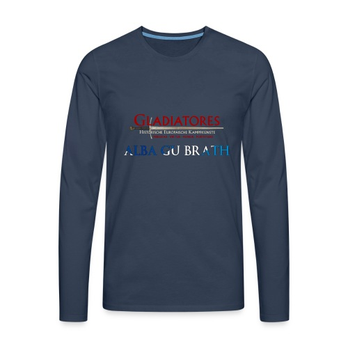 ALBAGUBRATH - Männer Premium Langarmshirt