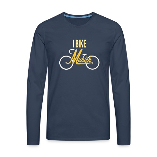 I Bike Munich - das Statement - Männer Premium Langarmshirt