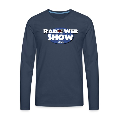 Logo RadioWebShow - Maglietta Premium a manica lunga da uomo