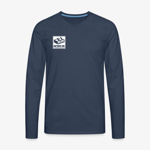 Garagenlan2 - Männer Premium Langarmshirt