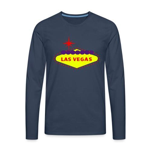 create your own LAS VEGAS products - Men's Premium Longsleeve Shirt