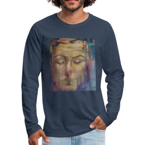 La meditazione - Maglietta Premium a manica lunga da uomo