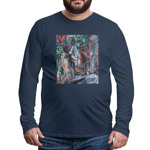 Il bacio - Maglietta Premium a manica lunga da uomo