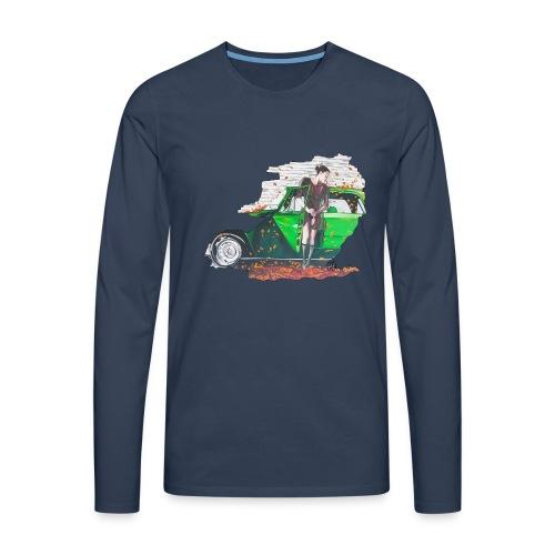 Fall - Männer Premium Langarmshirt