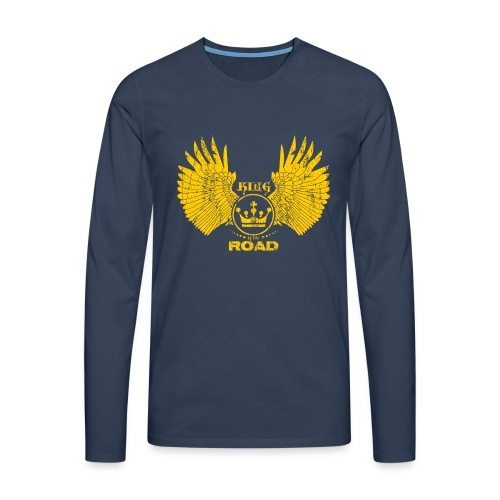 WINGS King of the road light - Mannen Premium shirt met lange mouwen