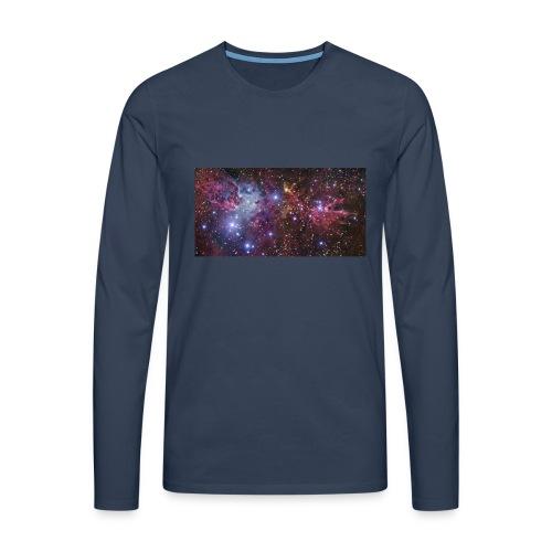 Stjernerummet Mullepose - Herre premium T-shirt med lange ærmer