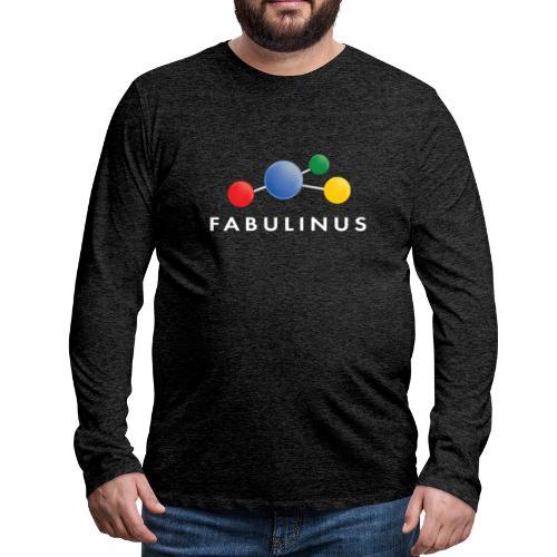 Fabulinus logo enkelzijdig - Mannen Premium shirt met lange mouwen