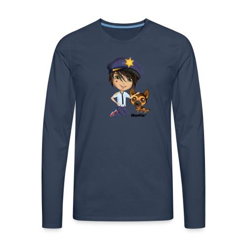 Jack and Dog - autorstwa Momio Designer Cat9999 - Koszulka męska Premium z długim rękawem