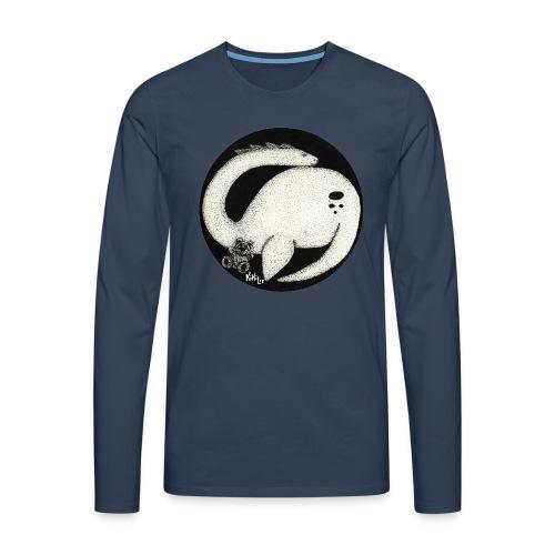 Nessie Durmiente (Monstruo del lago Ness) - Camiseta de manga larga premium hombre