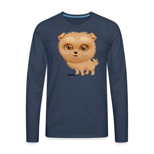 Dog - Koszulka męska Premium z długim rękawem