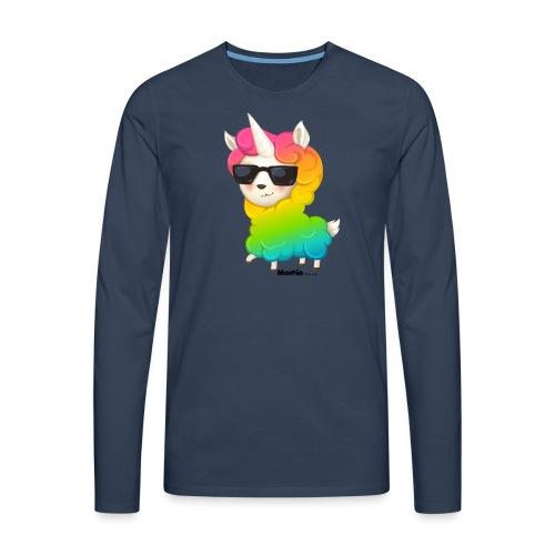 Rainbow animo - Koszulka męska Premium z długim rękawem
