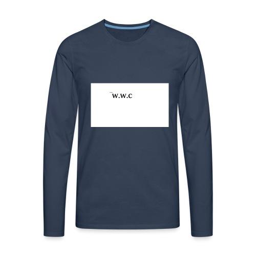 White Wolf Clothing - Herre premium T-shirt med lange ærmer