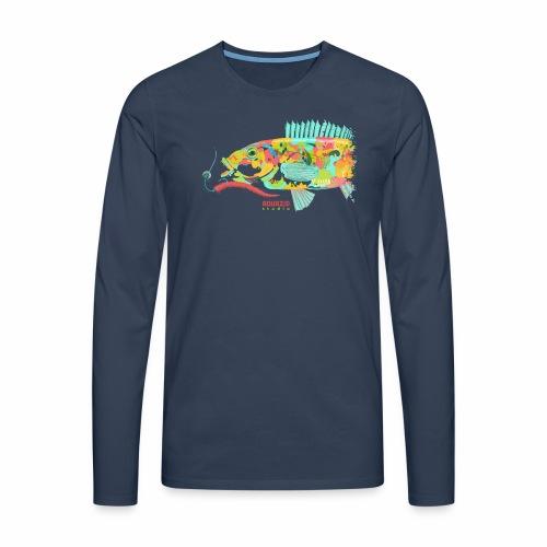 'Goldie - Goldsinny Wrasse - LRF Fishing - Men's Premium Longsleeve Shirt