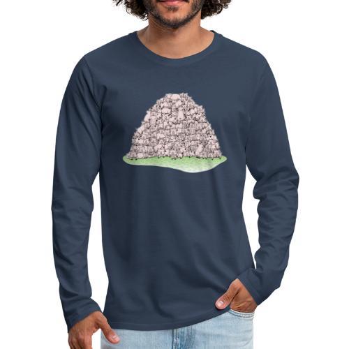 Der Sauhaufen - Männer Premium Langarmshirt