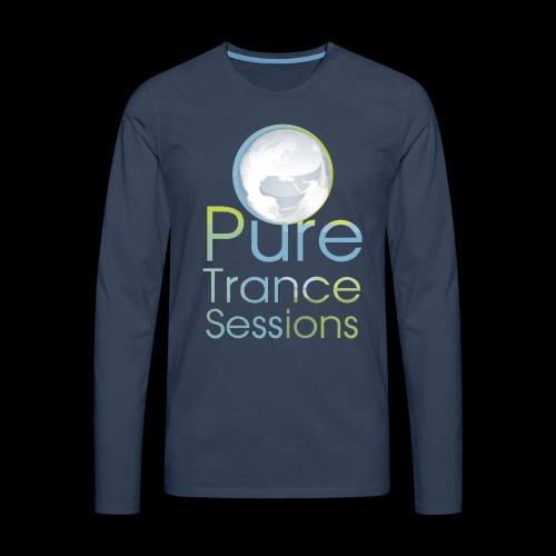 PTS logo new15 beeldmerkS png - Men's Premium Longsleeve Shirt