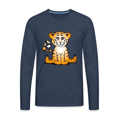 Tiger cub - Men's Premium Longsleeve Shirt