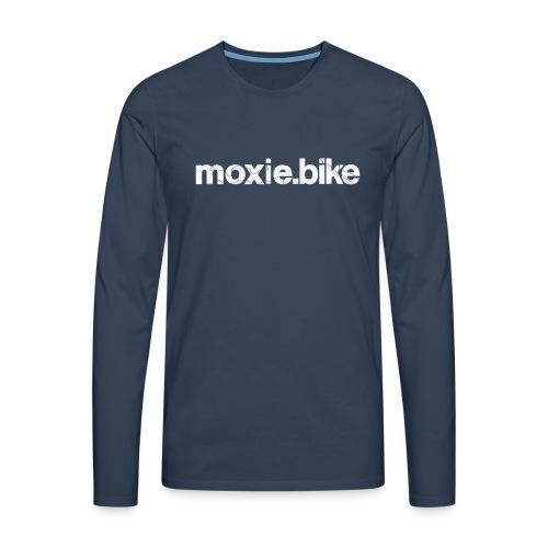 moxie.bike contour lines - Men's Premium Longsleeve Shirt