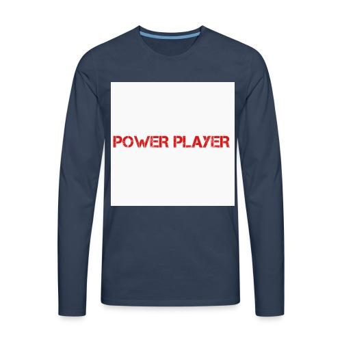 Linea power player - Maglietta Premium a manica lunga da uomo