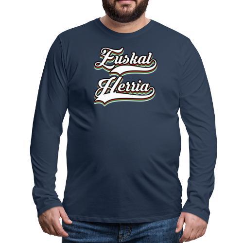 Euskal Herria - Camiseta de manga larga premium hombre
