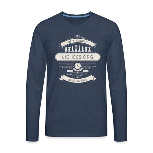 Vintage Lichess - Men's Premium Longsleeve Shirt
