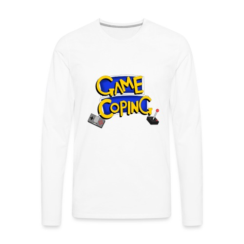 Game Coping Logo - Men's Premium Longsleeve Shirt