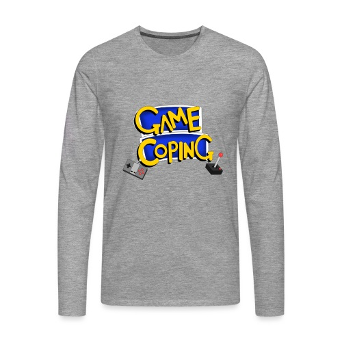 Game Coping Logo - Men's Premium Longsleeve Shirt