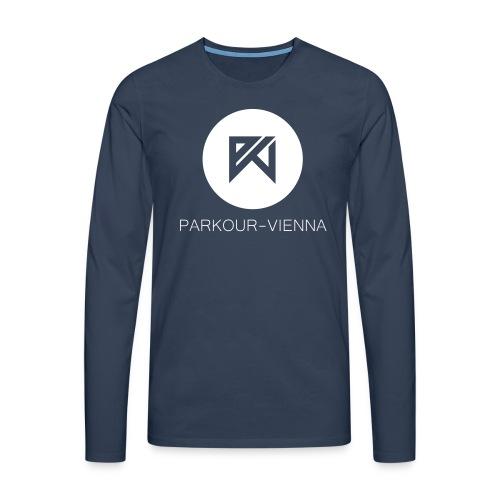 PKV Logo toktok Inverse - Männer Premium Langarmshirt