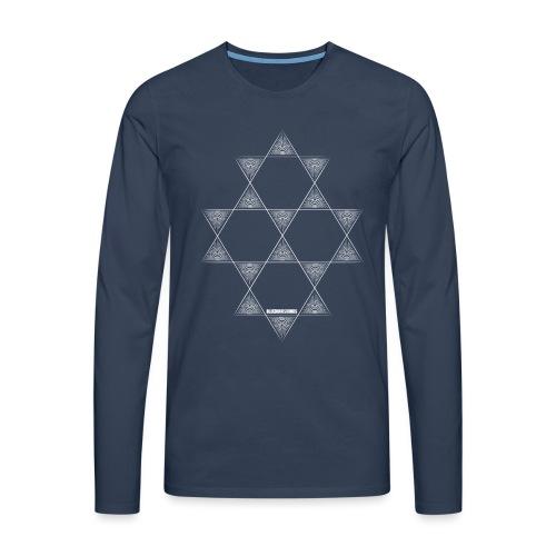 BHS LOGO_pattern-12 - Men's Premium Longsleeve Shirt