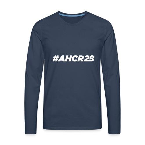 ahcr28 White - Men's Premium Longsleeve Shirt