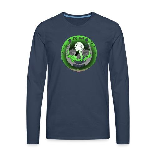 Rigormortiz Metallic Green Design - Men's Premium Longsleeve Shirt